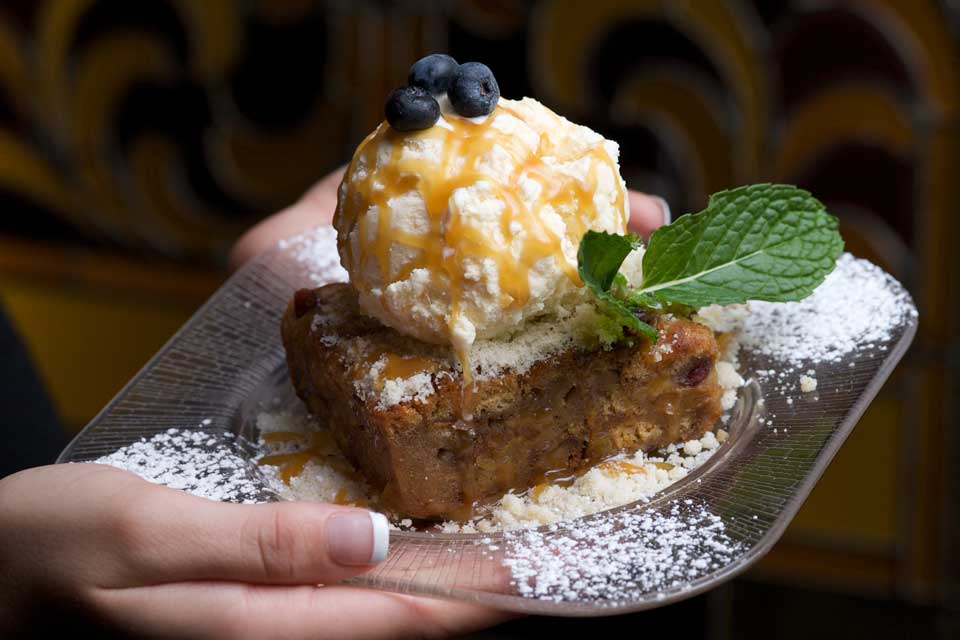 Bourbon Street Bread Pudding