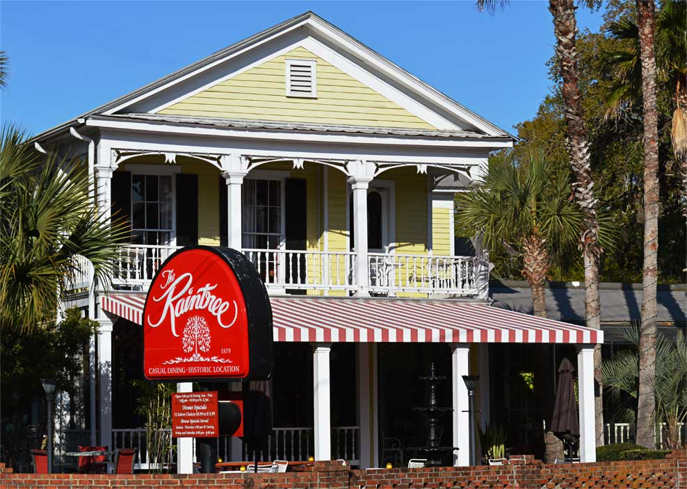 Raintree Restaurant St. Augustine, Florida