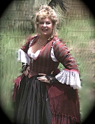 Dianne Thompson Jacoby as the Spirit of Caty Greene