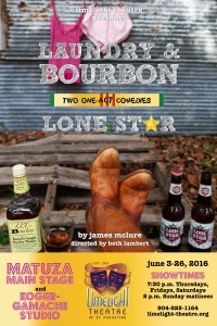 Limelight Theatre Presents Laundry & Bourbon, Lone Star June 3 - 26, 2016