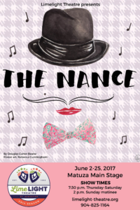 Limelight Theatre Presents The Nance June 2 - 25, 2017