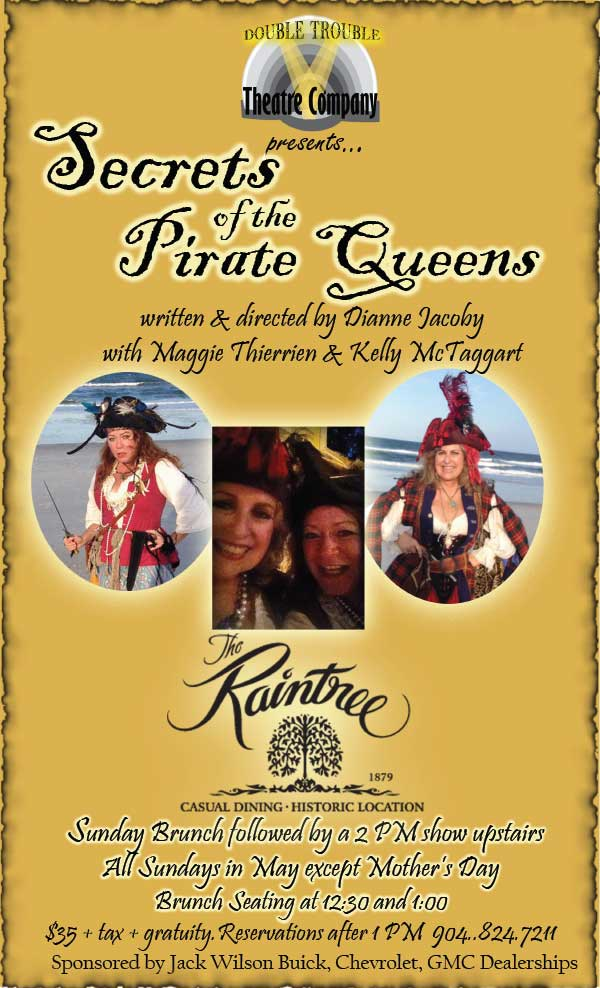 Flyer for Secrets of the Pirate Queens