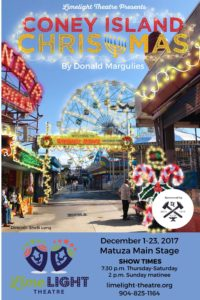 Limelight Theatre Presents Coney Island Christmas December 1-23, 2017