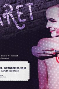 Limelight Theatre Presents Cabaret September 20 – October 21, 2018