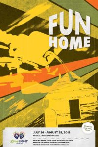 Limelight Theatre Presents Fun Home July 26 – August 25, 2019