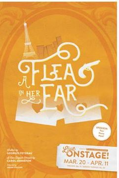 A Flea in Her Ear Show Poster